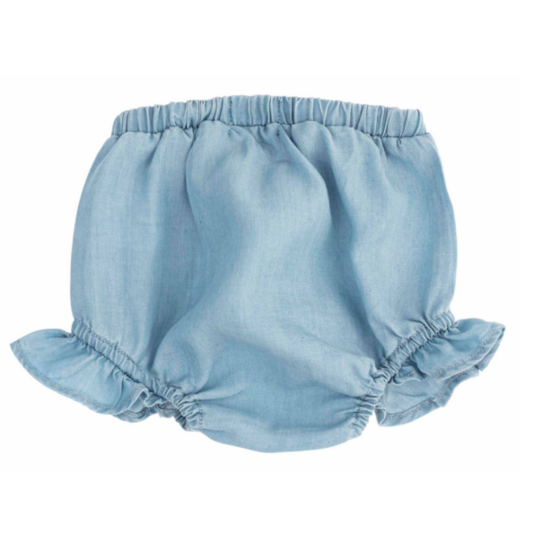 Baby Tencel Bloomer with Lace 2