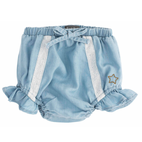 Baby Tencel Bloomer with Lace