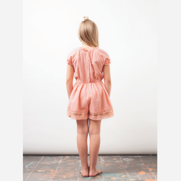 Lace and linen Jumpsuit LS2