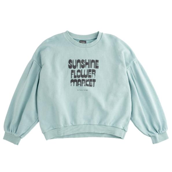 mint green kids sweatshirt